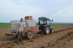 zalievanie sadeníc