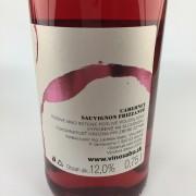 Cabernet Sauvignon frizzanté rosé 2018